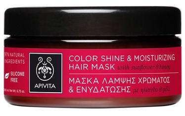 Apivita Color Shine&Moisturizing Hair Mask 200ml