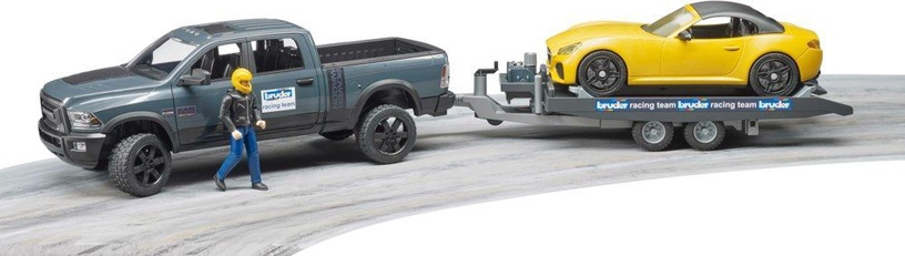 Bruder RAM 2500 Power Wagon With Trailer 2504