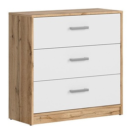 Black Red White Matos Drawer White/Oak