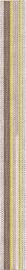 Keraminės dekoruotos sienų juostelės Oxford 3, 50 x 4.7 cm