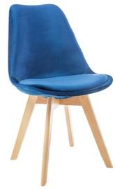 Стул для столовой Signal Meble Dior Velvet Buk Blue, 1 шт.