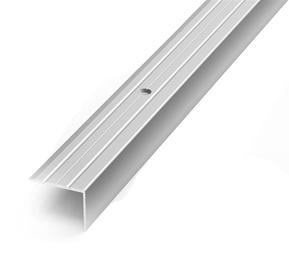 Laiptų kampas D3, sidabro, 90 x 2.4 x 1.8 cm