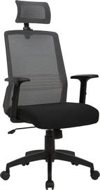 Home4you Office Chair Bravo Black/Gray 21143