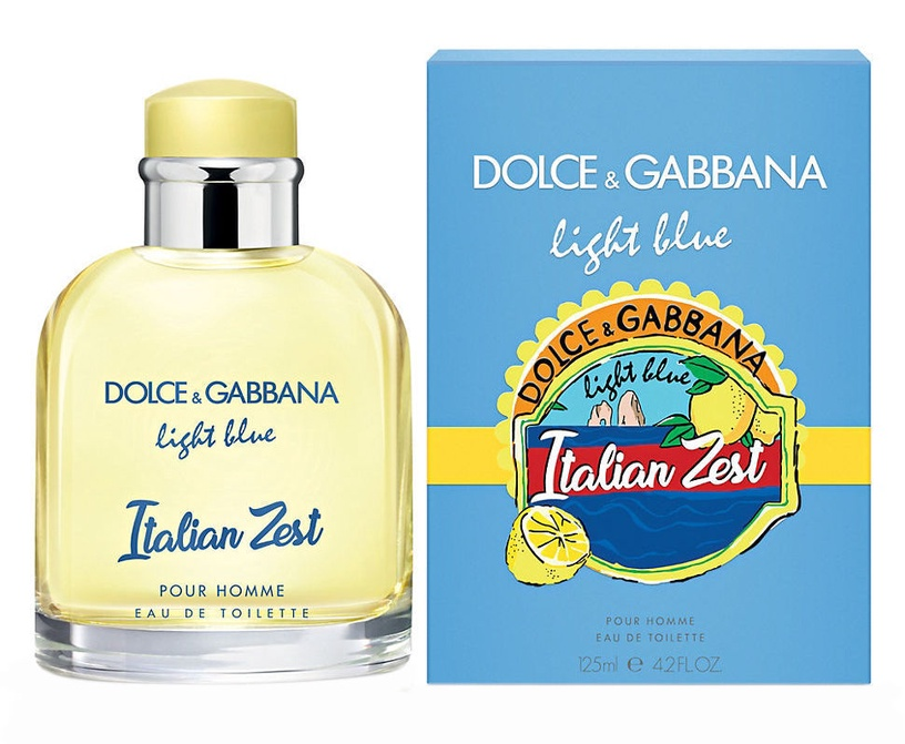 Kvepalai Dolce Amp Gabbana Light Blue Italian Zest Pour