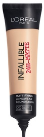 L´Oreal Paris Infallible 24h Matte Foundation 35ml 22