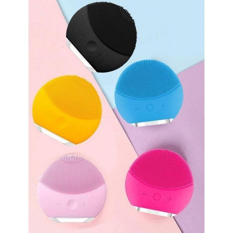 Forever Lina Mini Ultrasonic Facial Cleansing Brush Blue