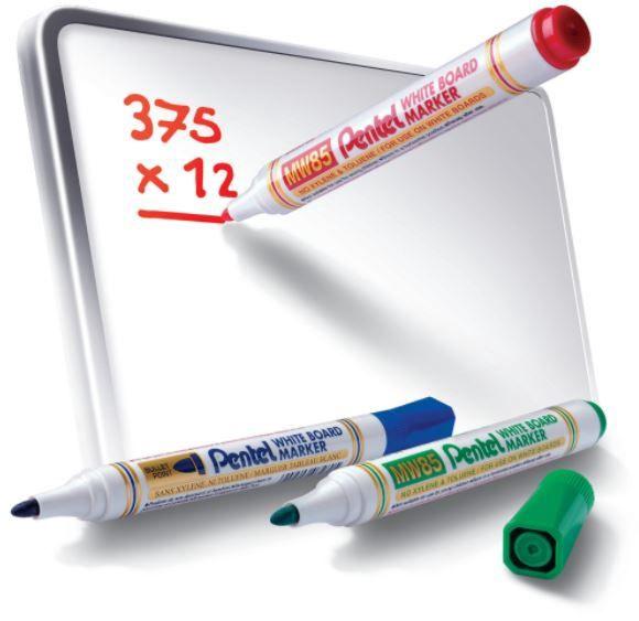 Baltās tāfeles marķieris Allboards Whiteboard Markers x 4