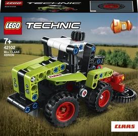 Конструктор LEGO Technic Mini CLAAS Xerion 42102, 130 шт.