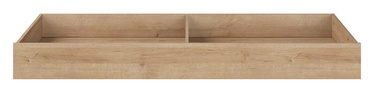 Black Red White Lurs Bed Drawer Riviera Oak