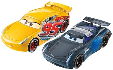Mattel Cars 3 Flip To The Finish Rust-eze Cruz Ramirez & Jackson Storm FCX95