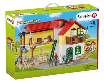 Фигурка-игрушка Schleich Large Farm House 42407