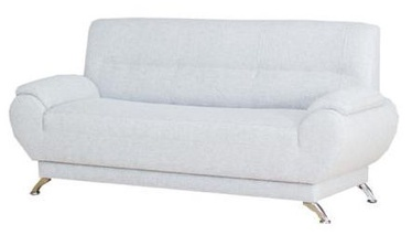 Sofa Bodzio Livonia 3 Light Gray, 184 x 76 x 89 cm