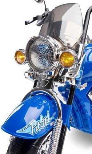 Toyz Rebel Motorcycle Blue