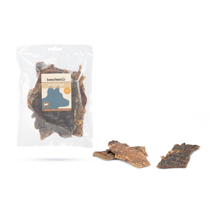 Skanėstai šunims Beeztees Beef Jerkies, su jautiena, 200 gr