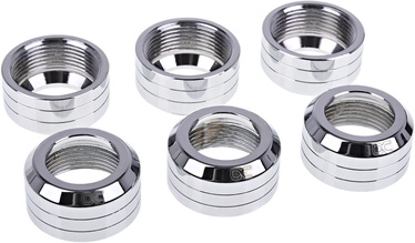 Alphacool Eiszapfen 16mm Pack of 6 Silver Polished