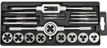 TAP AND DIE SET 20 PCS.