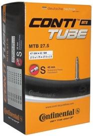 "Continental MTB Tube 27.5""x1.75-2.5 FV42 Black"