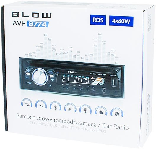 Blow AVH-8774 78-218#