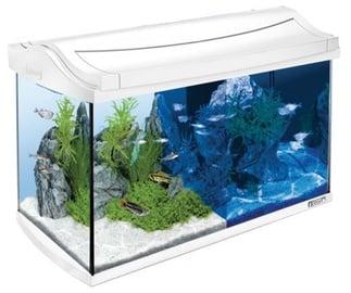 Akvariumas Tetra AquaArt, baltas, 60 l, su įranga