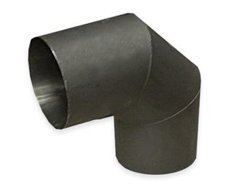 Dūmtraukio alkūnė ABX, 130 mm, 1.5 mm, 90°