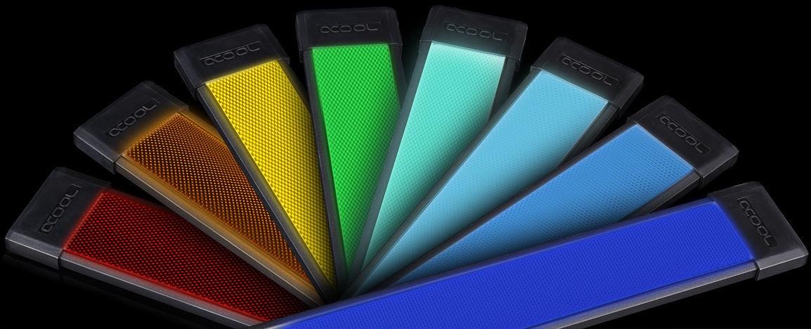 official photos a35f2 8c4ed Alphacool Eislicht LED Panel RGB