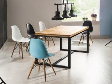 Signal Meble Table Loras A Oak/Black 150x90cm