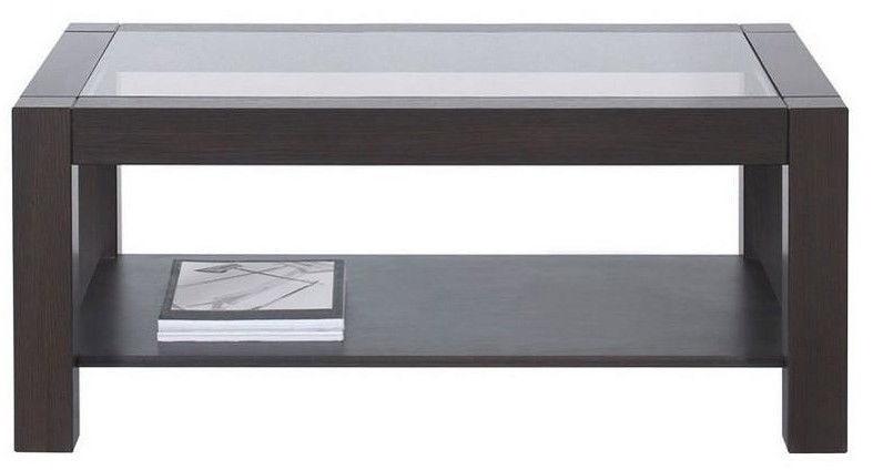 Kafijas galdiņš Black Red White Rumbi, brūna, 1060x640x460 mm