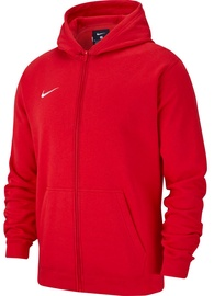 Nike JR Sweatshirt Team Club 19 Full-Zip Fleece AJ1458 657 Red M