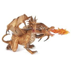 Rotaļu figūriņa Papo Two Headed Dragon 38938, Gold