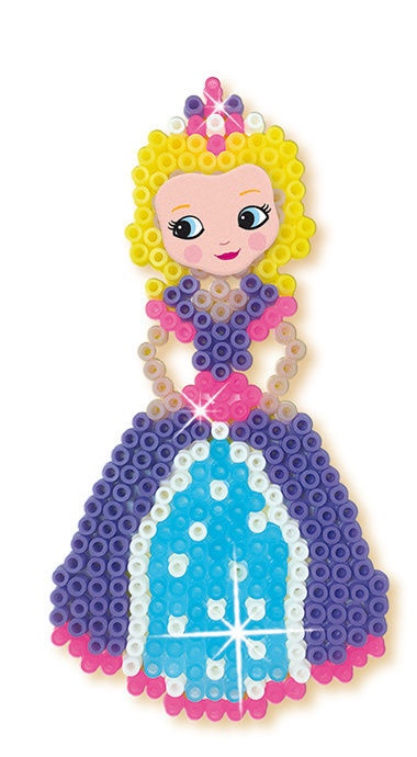 Mozaika SES Creative Beedz Iron On Beads Unicorns And Princesses 06216