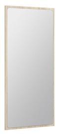 Black Red White Possi Mirror 55x109cm San Remo Oak