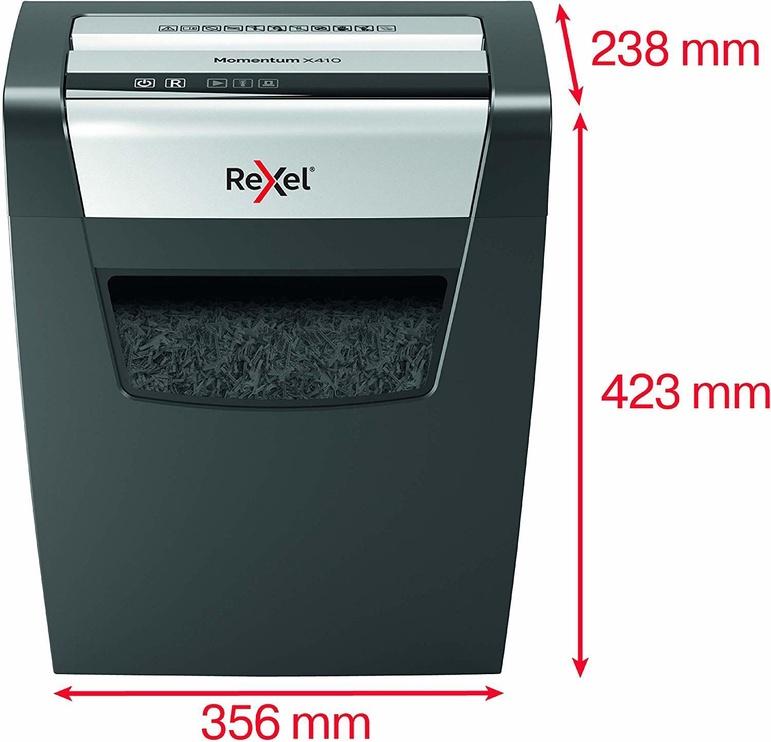 Уничтожитель бумаг Rexel Momentum X410, 4 x 30 mm