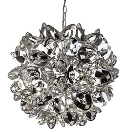Nino Flora Ceiling Lamp 5x40W E14 Chrome