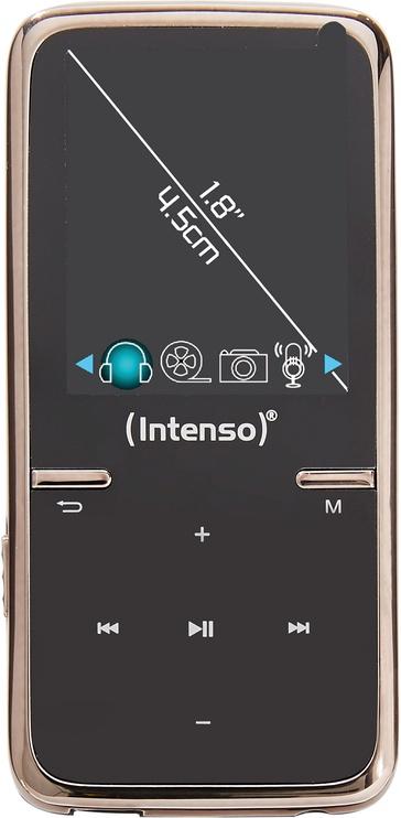 Музыкальный проигрыватель Intenso Video Scooter, черный, 8 ГБ