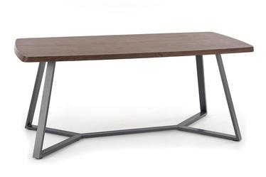 Pusdienu galds Halmar Caruzzo Walnut Oak/Graphite, 1800x900x760 mm