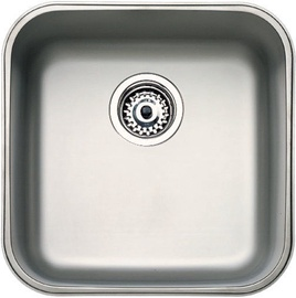 Teka Kitchen Sink BE 40x40 Plus Stainless steel