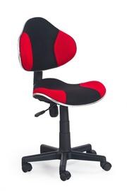Vaikiška kėdė Flash 2, juoda/raudona