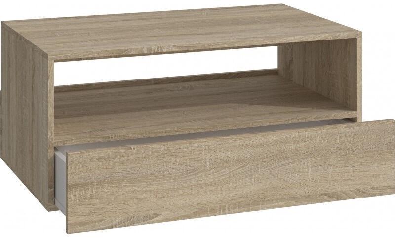 Kafijas galdiņš Top E Shop Rebel Sonoma, ozola, 900x540x400 mm