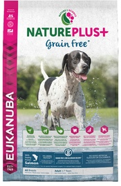 Eukanuba Nature Plus Adult Dog Grain Free With Salmon 14kg