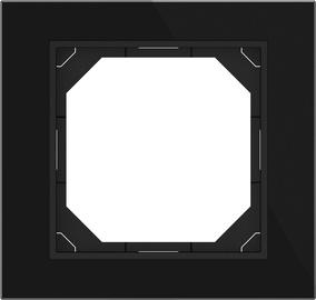 Vienvietis rėmelis Vilma QR1000, juodas stiklas