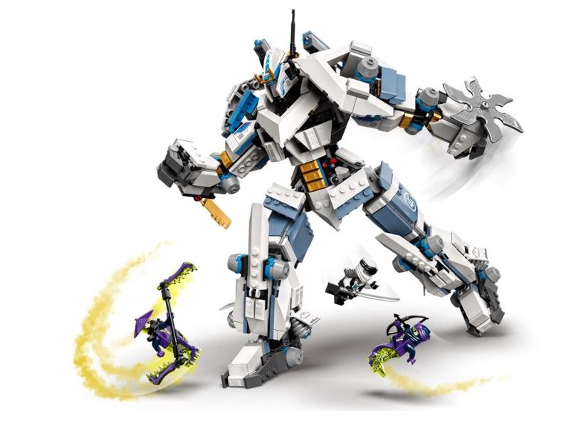 Constructor LEGO NinjaGo Zanes Titan Mech Battle 71738