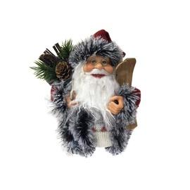 Kalėdinė muzikinė dekoracija Kalėdų senis, 18.5 cm