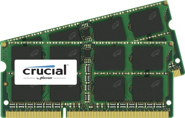 Crucial 4GB 800MHz DDR2 CL6 SODIMM KIT OF 2 CT2KIT25664AC800