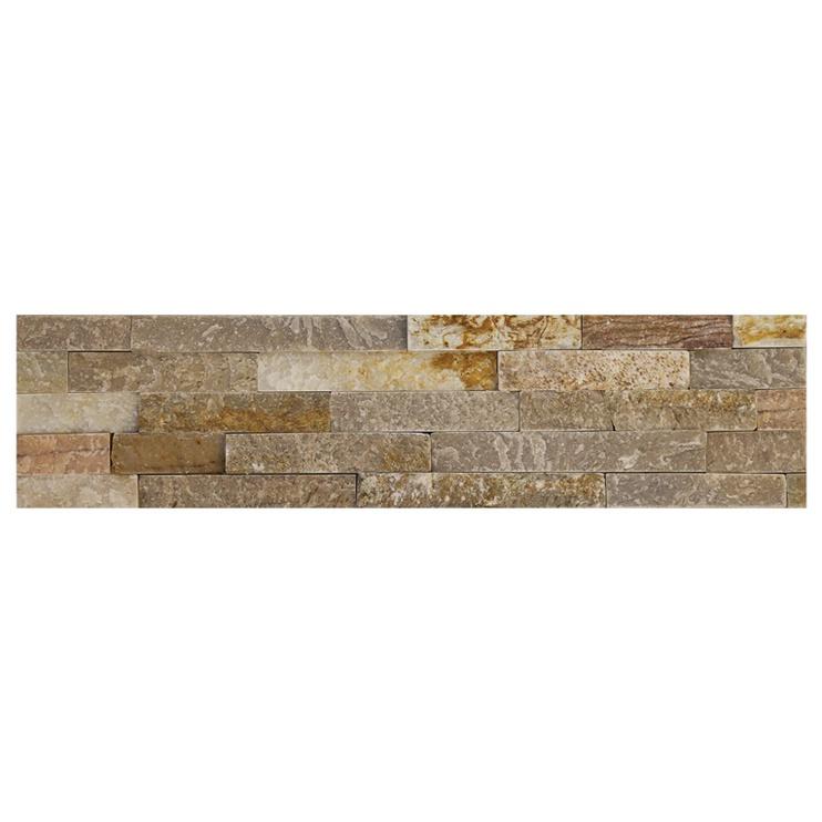 SN Stone Marble Rustic Floor Tiles 15x60cm Grey Beige