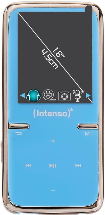 Музыкальный проигрыватель Intenso Video Scooter, синий, 8 ГБ
