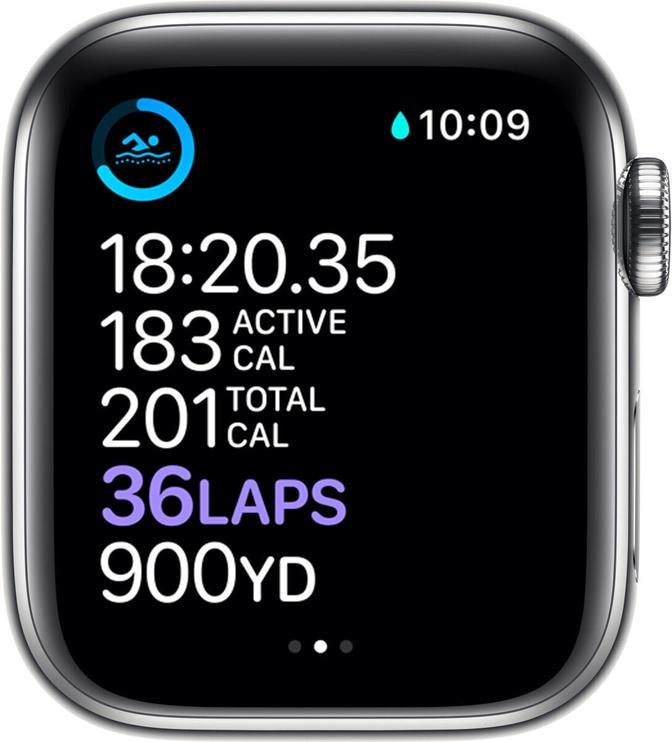 Умные часы Apple Watch Series 6 GPS LTE 40mm Stainless Steel, серебристый