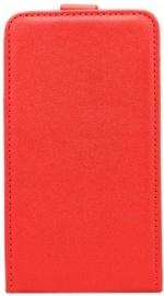 Telone Shine Vertical Book Case For Samsung Galaxy A5 A520 Red