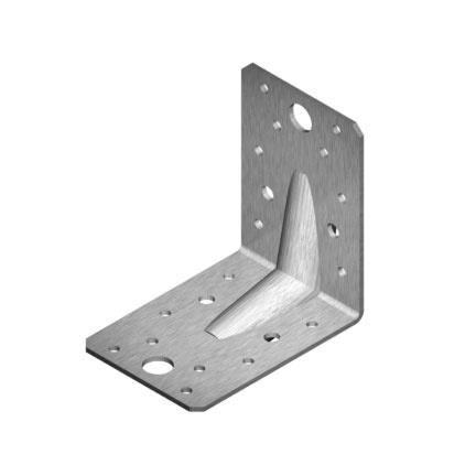 Крепежный уголок Arras A2 Stainless Angle Bracket 90x90x65x2mm 50pcs
