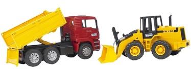 Bruder MAN TGA Construction Truck & Articulated Road Loader 02752