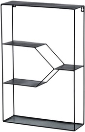 4Living Wall Shelf Black